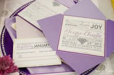 Custom Wedding Invitations Designed by Firefly by FireflyPaperie, $6.00
