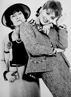 Coco and Suzy Parker, 1962.