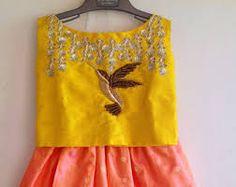 Bilderesultat for textiles yellow birds silk