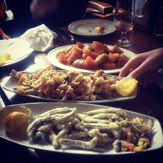 #Malaga #lunchtime #elpimpi #food #yum