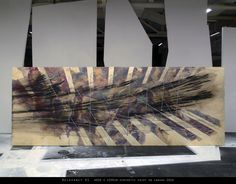©2016 Mirek Zahalka R e l e v a n c y 01 synthetic paint on canvas, w600 x h200cm, 2016