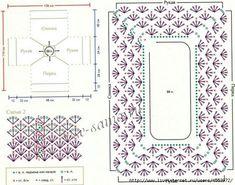 Delicadezas en crochet Gabriela: Colecciòn : Crochet Ranglan. Esquemas