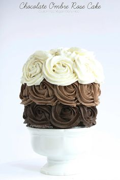 Gluten Free Chocolate Cake recipe (vegan)- Gorgeous dairy free roses adorn this decadent chocolate cake. Food allergy friendly- egg free soy free nut free #EatFreely #ad