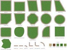 Garden Design Landscape Icons Fresh Design Elements Plots and Fences Free Landscape Design, Landscape Design Software, Landscaping Software, Landscape Plans, Green Landscape, Garden Landscaping, Patio Plans, Garden Solutions, Garden Design Plans