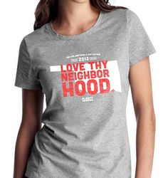 Plenty Life & Style Mercantile, 807 N Broadway Ave., owners Brittney Melton, Traci Walton and Chris England designed a T-shirt to be available on Friday. The shirt is a unisex crew neck gray shirt with the phrase Love Thy Neighborhood printed over a white state map with the dates of the tornadoes emblazoned above the phrase. The shirts will be $30 and all proceeds will be donated to The Red Cross. Photo provided.