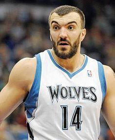 Minnesota Timberwolves #14 Nikola Pekovic -- Center