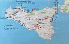 Stan and I independently list our 4 favourite places in Sicily and then compare notes: they match! Sorrento Italy, Naples Italy, Sicily Italy, Venice Italy, Verona Italy, Puglia Italy, Sicily Travel, Italy Travel Tips, Sicily Cities
