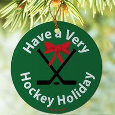 81 best Hockey Holiday Ornaments images on Pinterest | Holiday ...