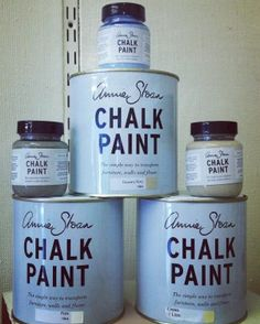 Annie Sloan Chalk Paint. Can't wait to try.