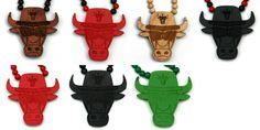 Wood Junkie Necklace Bull Sunglasses - Urban Classics-Shop.nl
