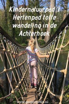 't Hertenpad is een toffe wandelroute van 2,5 kilometer voor het hele gezin. De wandeling start in het plaatsje Baak, een kwartier rijden van Zutphen. Het is volgens onze dochter de leukste wandeling om te doen in de Achterhoek met kinderen. Weekender, Backpacking, Camping, Julie, The Other Side, Walk On, Projects For Kids, Where To Go, Wander