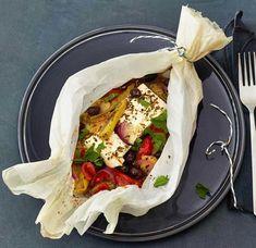Rezept: Kartoffel-Schafskäse-Päckchen