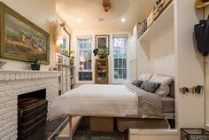 Nézd meg, hogy él boldogan egy new york-i pár, 22 négyzetméteren!
