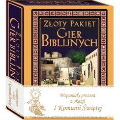 Złoty Pakiet Gier Biblijnych Prezent I Komunia Święta Faith, Cover, Books, Kids, Young Children, Libros, Boys, Book, Children