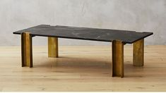 Alcide Rectangular Marble Coffee Table |