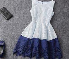 New Sexy Fashion Hit Color Sleeveless Dress