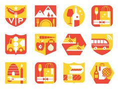 Vancouver Magazine Icons  by Eight Hour Day