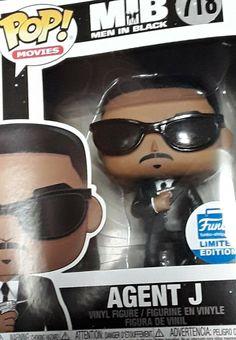 NEW Rare Exclusive LIMITED EDITION POP Funko#718 POP Movie Men In Black AgentJ #Funko