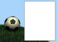 Mini Kit de Futebol Variado - Mini Kit com molduras para convites, rótulos para guloseimas, lembrancinhas e imagens!