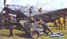 Stuka Ju 87 Dive Bomber. This aircraft incorporated sirens that were activated when the aircraft started to dive. This was solely meant to terrify those who were targets down below. Overall, this was far from being the best aircraft in the Luftwaffe.