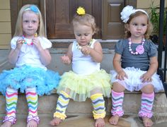 Chevron Ruffle Leg Warmers, Buy 2, Get 4 FREE this week only at http://screamingowl.com