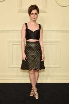 Vote! Who Was the Best Dressed Celebrity of the Week? // Lily Collins