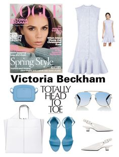 """Victoria Beckham"" by im-karla-with-a-k on Polyvore featuring Victoria, Victoria Beckham, Victoria Beckham, ruffles and RuffLyfe"