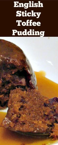 Perfect English Sticky Toffee Pudding. Heavenly! A delicious cake dessert served…