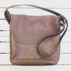 00300ce98497 1990 s Coach  Whitney s Legacy  shoulder bag - dark tan