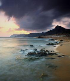 Playa de Calblanque en muy cerca de La  Manga del Mar Menor en Murcia