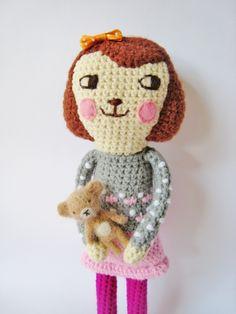 Meet Melisa. Handmade and found via the amazing little craft blog Pfang Handmade.