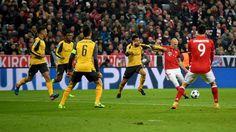 Champions League: Die schönsten Fotos vom CL-Achtelfinale zwischen dem FC Bayern und dem FC Arsenal.