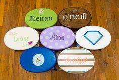 Personalized Step Stools from @ktsteppers - makes a great holiday or birthday gift for your big boy or girl!