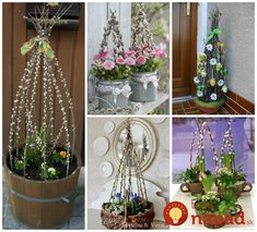 Krásne nápady na veľkonočnú dekoráciu, ktorú budú všetci, ktorí vás počas sviatkov navštívia. Takto krásne si môžete vyzdobiť vchod do svojho domu, alebo bytu. Krásne nápady, čo poviete?