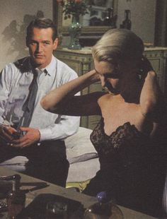I would die happy if my man looked at me like that just once...Paul Newman and Joanne Woodward