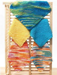 Washcloth Knitting Pattern Simple Easy Knit Dishcloth Washcloth 3 Steps With Pictures. Washcloth Knitting Pattern Simple Easy Knit Dishcloth Washcloth 3 Steps With Pictures. Knitted Washcloth Patterns, Knitted Washcloths, Dishcloth Knitting Patterns, Crochet Dishcloths, Knit Or Crochet, Crochet Crafts, Knit Patterns, Cotton Crochet, Diy Crafts