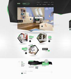 Insane web design UI | repinned by www.BlickeDeeler.de