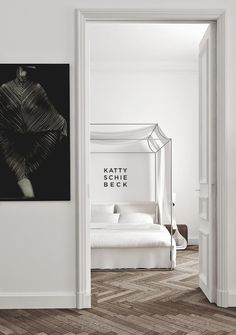 black and white and so cc cosy and capable - A Minimalist Apartment by Katty Schiebeck -★-