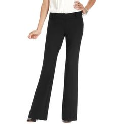 Must have for the office whether a business casual separate or as a part of s business professional suit - black slacks (Zoe Boot Cut from the LOFT)