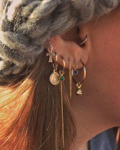 Gold Mini Heart Earrings with Round Cut Diamonds/ Micro Pave Earrings / Heart Shape Diamond Studs/ Minimalist Earrings – Fine Jewelry Ideas - diamond earrings Hoop Earrings Outfit, Gold Hoop Earrings, Heart Earrings, Crystal Earrings, Diamond Earrings, Gold Hoops, Crystal Jewelry, Gemstone Necklace, 14k Earrings