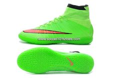 quality design d0a5c d8830 Nike Generic Mens Elastico Superfly Indoor IC Soccer Shoes Hi Top Football  Boots Fluorescent Green   new soccer shoes