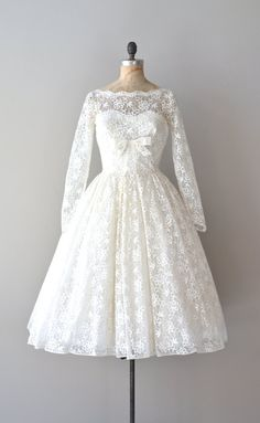 lace 50s Love Like Heaven wedding dress