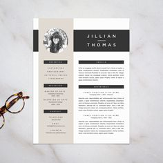 Professional Resume Template and Cover Letter by RefineryResumeCo