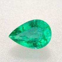 2.85ct Pear Cut Zambian Emerald