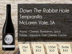 Down The Rabbit Hole Tempranillo McLaren Vale