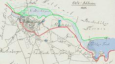 Oleśnica na prawym brzegu potoku Olesnickiego Map, Location Map, Maps