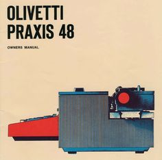 Olivetti Praxis 48 Owners Manual  via Machines of Loving Grace