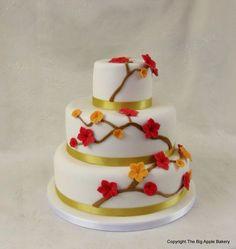 Birthday cake cerisier japonais