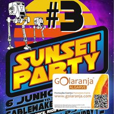 3 Sunset Party - CableWake Ride Double - paga 1 anda 2 @ Wake Salinas | Lagos http://www.golaranja.com/pt/special-offers/sobre-nos/wake-salinas 6/6/2015 - Sunset Party - CableWake Ride Double - pay 1 ride 2 #PromoGOlaranja #Wake #WakeSalinas #Lagos #GOlaranja #Algarve