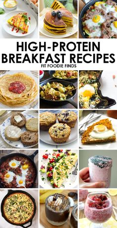 06.22.15 Posted By • Lee Hersh Eat your breakfast and protein too. Here's 15 high protein breakfast recipes from eggs to pancakes to smoothies from my favorite healthy food bloggers! I've always ...